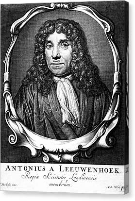 Anton Von Leeuwenhoek Canvas Print by Universal History Archive/uig