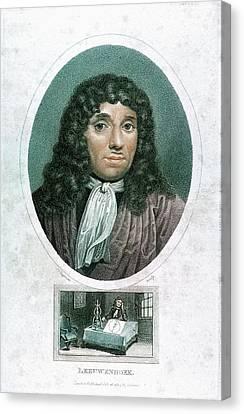 Anton Von Leuwenhoek Canvas Print by Universal History Archive/uig