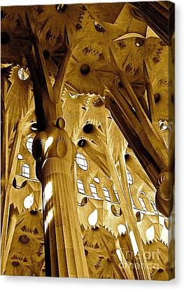 Antoni Gaudi Rythmes   Canvas Print