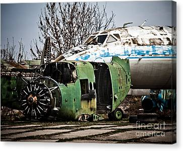 Antonov And Tupolev Canvas Print
