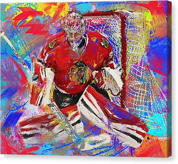 Antti Raanta Canvas Print by Donald Pavlica