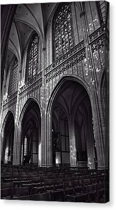 Antwerp Cathedral Canvas Print by Joan Carroll