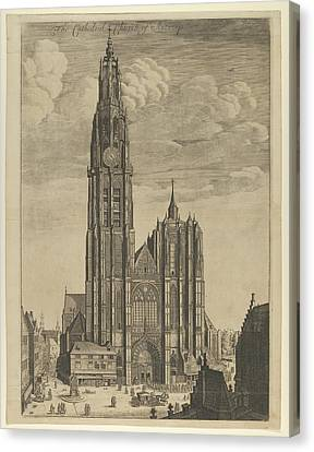 Antwerp Cathedral Prospectvs Tvrris Canvas Print