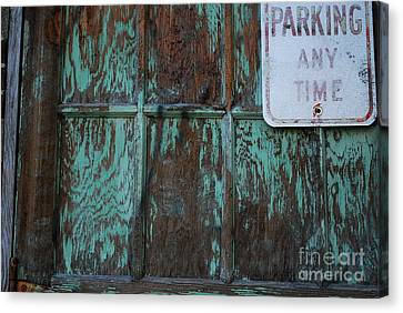 Any Time Canvas Print by Susan Hernandez