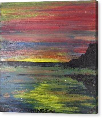Aotearoa Canvas Print - Aotearoa Sunset 2 by Stacey Austin