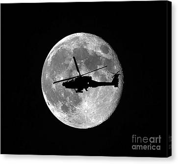 Apache Moon Canvas Print by Al Powell Photography USA
