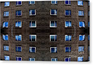 Apartments In Berlin Canvas Print by Andy Prendy