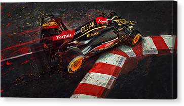 Apex Hunter Canvas Print by Alan Greene