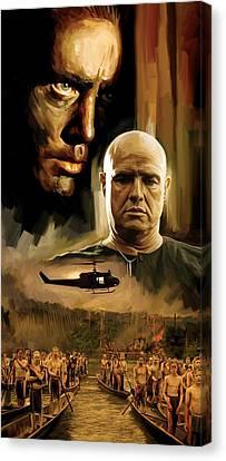 Apocalypse Now Artwork Canvas Print