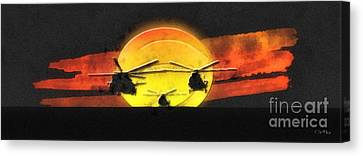 Apocalypse Now Canvas Print by Mo T