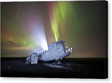 Apocalyptic Aurora Canvas Print by Timm Chapman