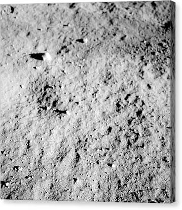 Apollo 11 Lunar Surface Canvas Print by Nasa