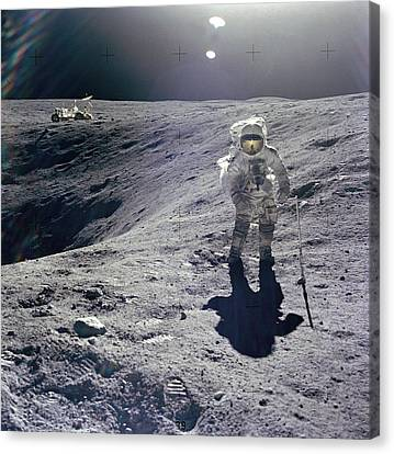 Apollo 16 Canvas Print by Celestial Images