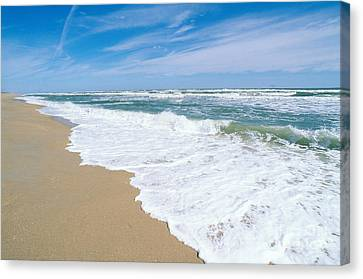 Apollo Beach Canvas Print by Millard H. Sharp