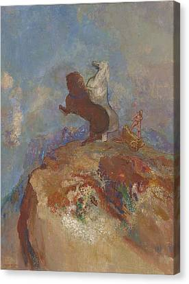 Apollo, C.1905-10 Canvas Print by Odilon Redon