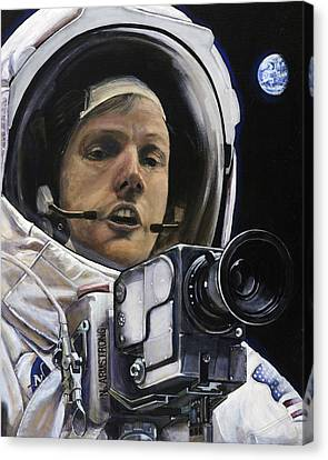 Apollo- For Mankind Canvas Print by Simon Kregar