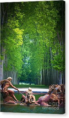 Apollo Fountain Canvas Print by Inge Johnsson