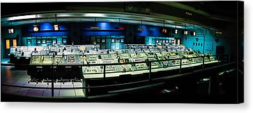 Apollo Mission Control Canvas Print