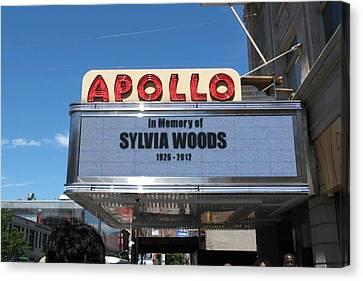 Apollo Theater Canvas Print - Apollo Theater by Gail Starr