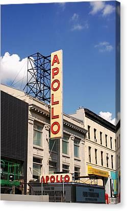Apollo Theater Canvas Print - Apollo Theater by Martin Jones