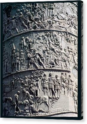 Apollodorus Of Damascus, Column Canvas Print