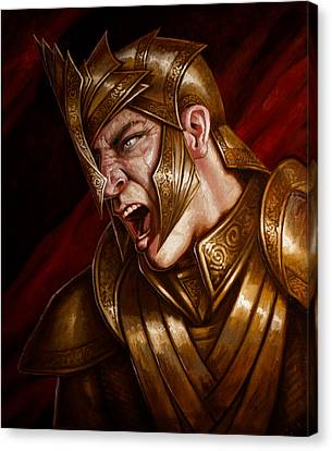 Apophis Canvas Print by Mark Zelmer