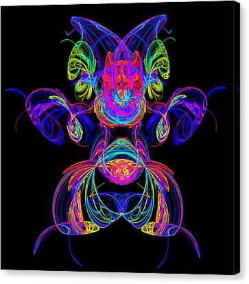 Apophysis Puppy Canvas Print by Pat Follett