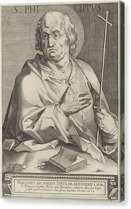 Apostle Philip, Egbert Van Panderen Canvas Print by Quint Lox