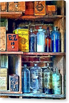 Apothecary Stockroom Canvas Print