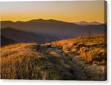 Canvas Print featuring the photograph Appalachian Afternoon by Serge Skiba
