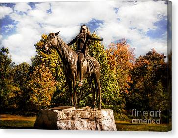 Appeal To The Great Spirit Canvas Print by Tamyra Ayles