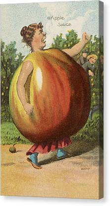 Apple Sauce Canvas Print by Aged Pixel