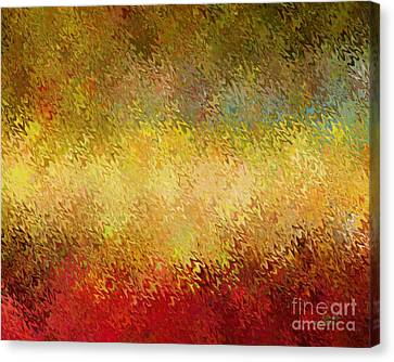Apple Spice Canvas Print by David K Small