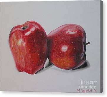 Apple Study Canvas Print
