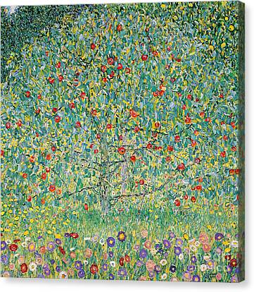 Apple Tree I Canvas Print by Gustav Klimt