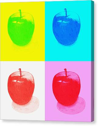 Apples2 Canvas Print by Kenneth A Mc Williams