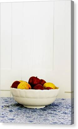 Apples Canvas Print by Margie Hurwich