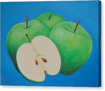 Apples Canvas Print by Sven Fischer
