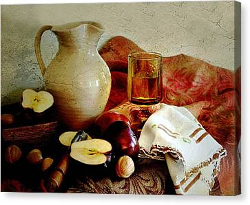 Apples Today Canvas Print by Diana Angstadt