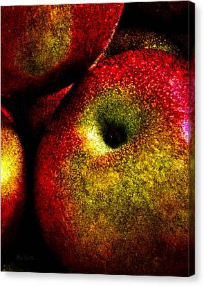 Apples Two Canvas Print by Bob Orsillo