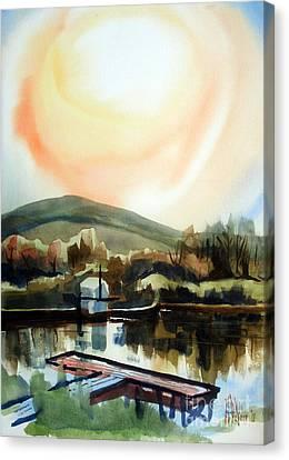 Approaching Dusk I Canvas Print by Kip DeVore