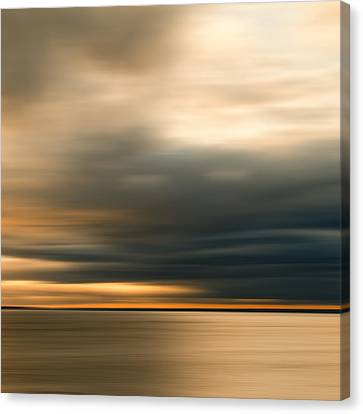 Approaching Evening Storm Canvas Print by Bob Retnauer