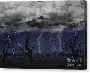 Approaching Storm Canvas Print by Thomas OGrady