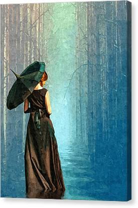 Apres La Pluie Canvas Print