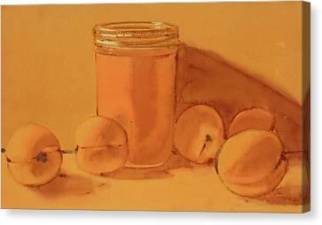 Apricot Preserves Canvas Print