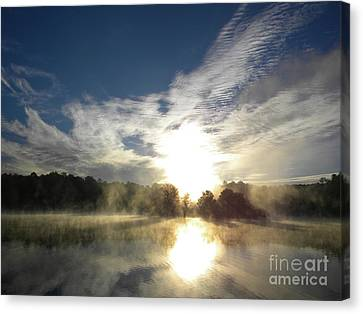 Glorious Morning Canvas Print by Matthew Seufer