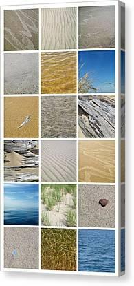 April Beach Canvas Print by Michelle Calkins