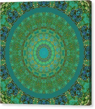 Aqua House 5  Canvas Print