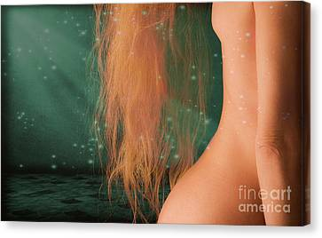 Aquarius... Canvas Print by Nina Stavlund
