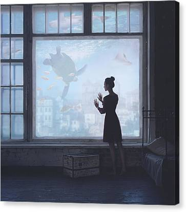 Aquatic Canvas Print by Anka Zhuravleva
